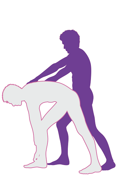 Drag Back Anal Sex Position