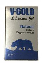 V Gold naturel kayganlaştırıcı 5 x 5 ml kutu