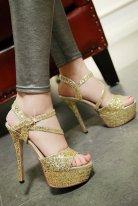 Parti ve Gece Stiletto Ayakkabı