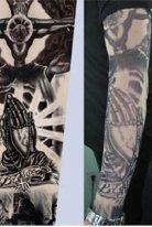 Tattoo Haç Motifli Giyilebilen Dövme