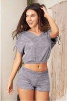 Şortlu Büstiyer Pijama Takımı