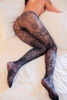 Şık Külotlu Çorap Siyah