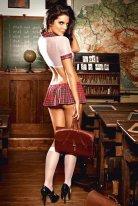 Liseli Sezy Kız Kostümü