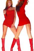 Merry See Kırmızı Fantezi Giyim