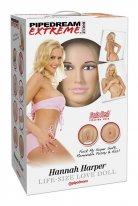 Hannah Harper Realistik Vajina ve Anüs