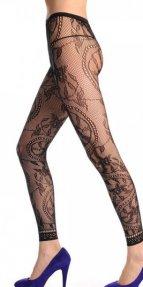 Desenli Külotlu Çorap