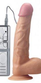 Et Dokusunda 22 Cm Realistik Vibratör