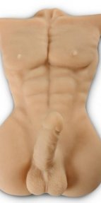 Yarım Vücut Erkek Realistik Manken