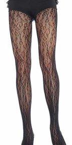 Seksi Leopar Desenli Külotlu Çorap
