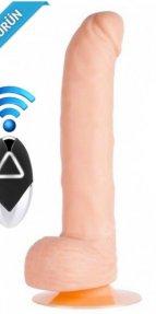 Silicone Wireless Kablosuz Ultra Gerçekçi Vibratör