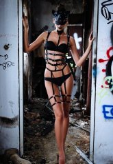 İç Giyim Özel Harness Takım Jartiyer