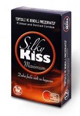 Silky Kiss Maximum Tırtıklı ve Benekli Prezervatif