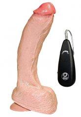 27.5 Cm Titreşimli Vibratör Penis