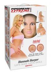Hannah Harper Realistik Şişme Manken