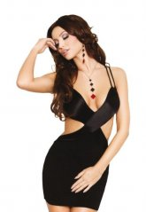 Siyah Fantazi Elbise