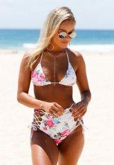 Yüksek Bel Şık Bikini Takım