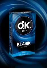 Okey Klasik 10'lu Prezervatif