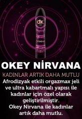 Nirvana Uyarıcı Jel 100 ml