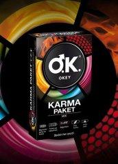 Okey Prezervatif Renk Renk 12'li