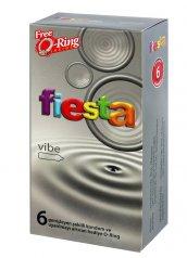 Fiesta Vibe 6lı Prezervatif Titreşimli Halka Hediyeli