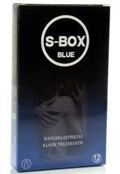 S-Box Blue 12li Paket Prezervatif