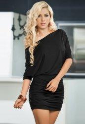 Şık Siyah Mini Elbise