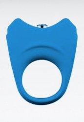 Kaliteli Silikon Titreşimli Penis Halkası Mavi