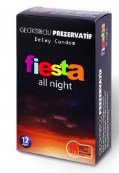 Fiesta All Night Geciktiricili Prezervatif