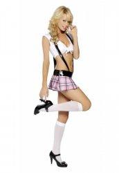 Fantazi Liseli Sexy Kız Kostümü