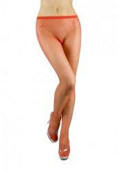 Kırmızı Transparan Külotlu Çorap