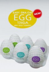 Tenga Yumurta 6lı Paket Set