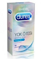Durex Prezervatif Yok Ötesi Ekstra His 10 lu