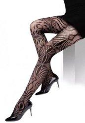 Şık Desenli Sexy Külotlu Çorap