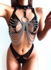 Zincirli Özel Tasarım Seksi Fantazi Giyim