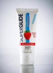 Hot Superglide Çilek Aromalı Kayganlaştırıcı Jel