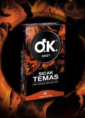 Okey Prezervatif Sıcak Temas 10'lu