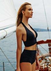 Siyah Şık Bikini Üst