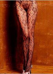 Şık Desenli Külotlu Çorap