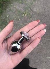Paslanmaz Çelik Küçük Boy Anal Tıkaç Plug