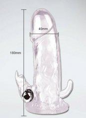 Brave Man Uyarıcılı Titreşimli Penis Halkası