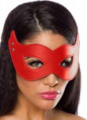 Kırmızı Deri Maske