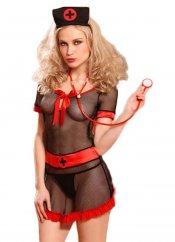 Seksi File Hemşire Kostüm