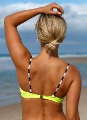 Sarı Özel Tasarım Bikini Üst