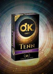 Okey Tenn Ekstra İnce Orijinal Prezervatif 8'li