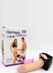 Harness Strap On Belden Bağlamalı İçi Boş Penis
