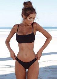 Sexy Şık Siyah Bikini Takım
