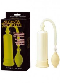 Glow in the dark Penis Pompası
