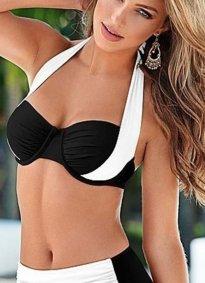 Siyah Beyaz Bikini Altı