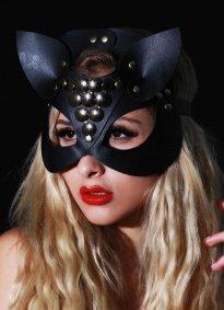Fantazi Deri Maske Larissa