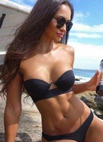 Angelsin Siyah Bikini Alt